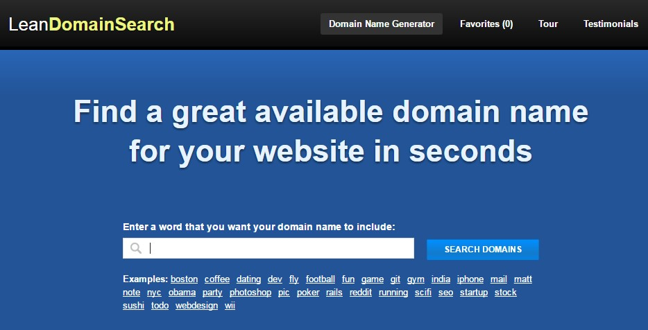 Lean Domain Search - Info Seek Out