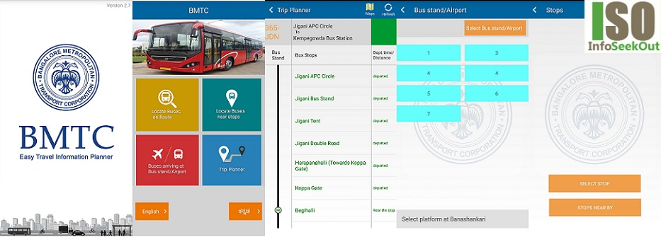 BMTC Easy Travel Information Planner - InfoSeekOut