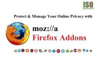 Firefox Addons To Protect And Manage Your Online Privacy - InfoSeekOut