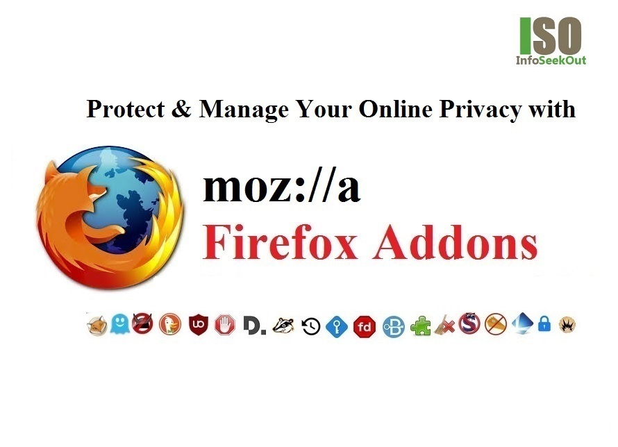 Firefox Addons To Protect And Manage Your Online Privacy