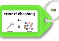 Hashtags Power In Human Search & Search Media Optimization (SMO) - InfoSeekOut