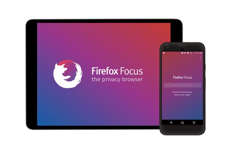 Firefox Focus The Privacy Browser For Android And iOS Mobile Devices.