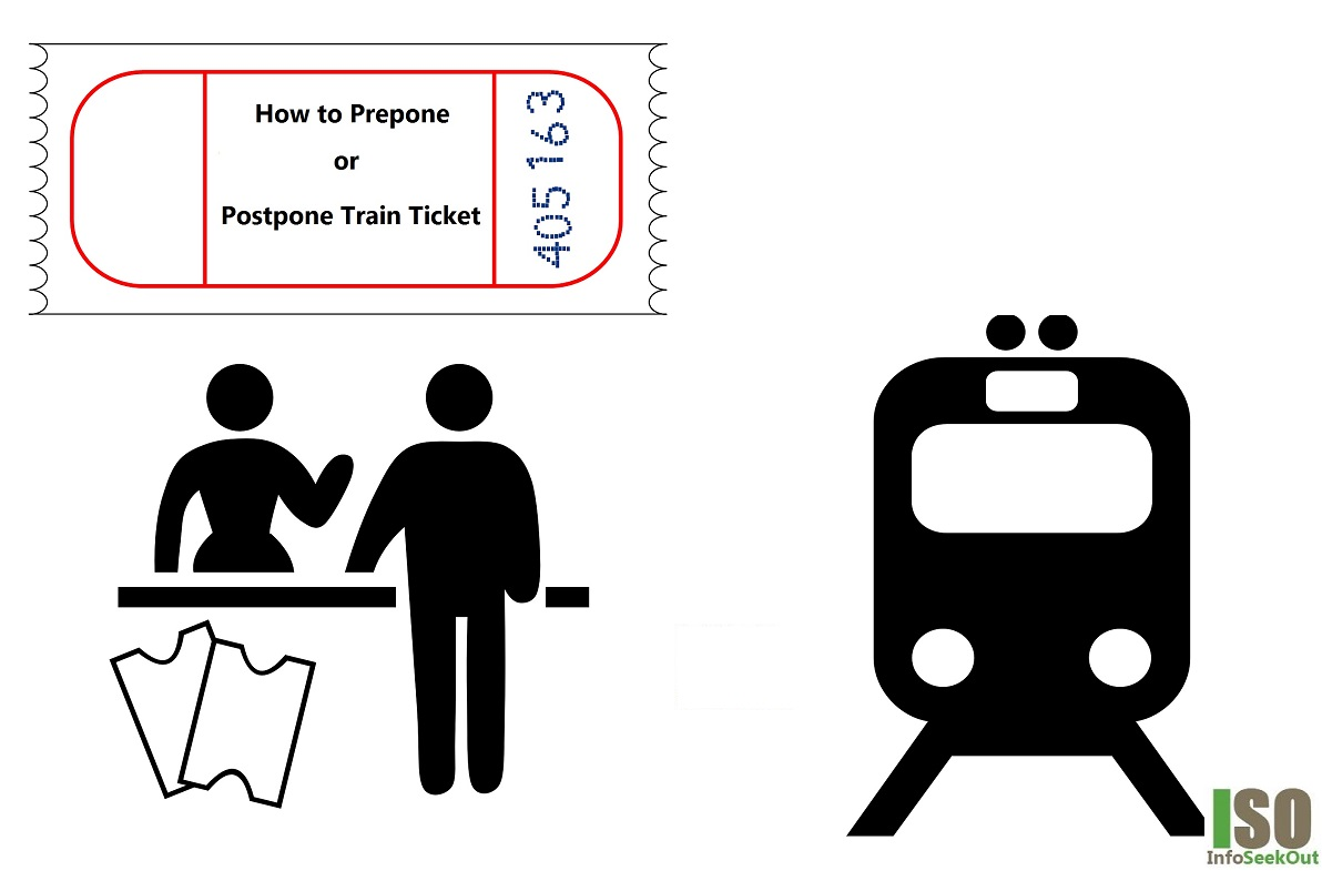 Postpone Train Ticket - InfoSeekOut
