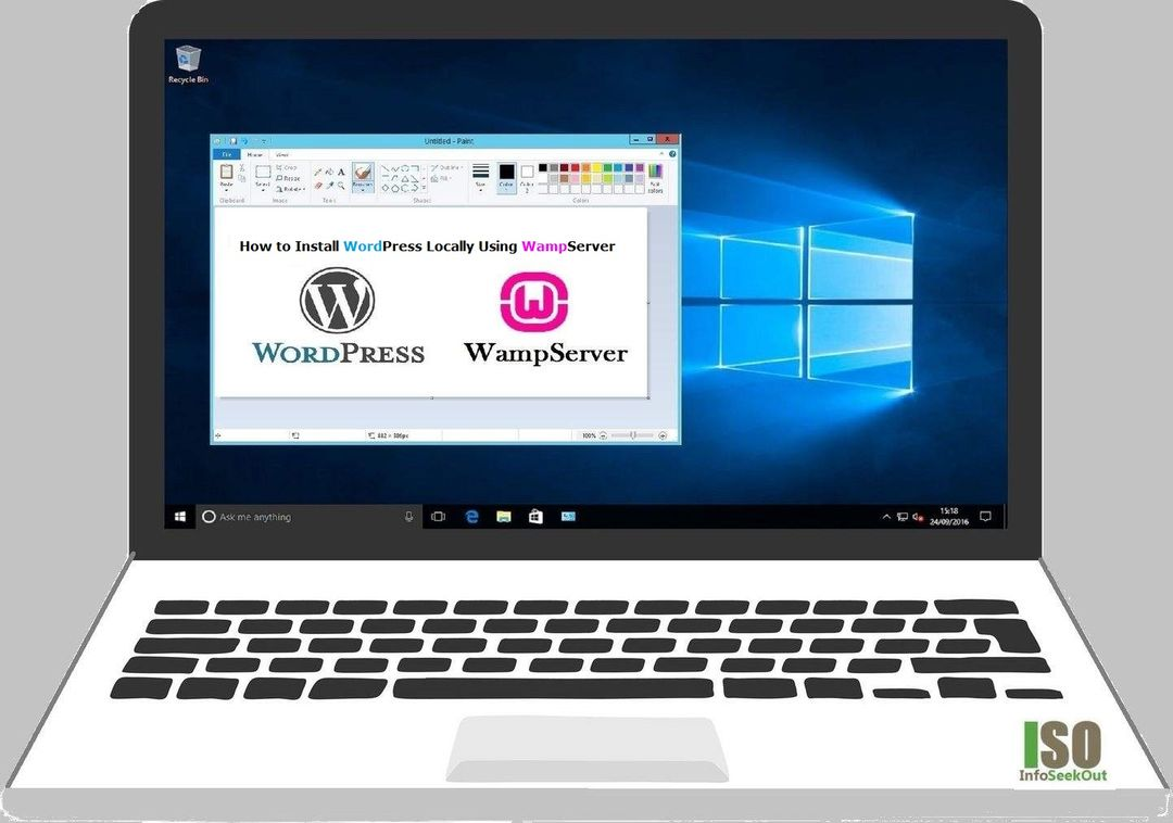 Install WordPress locally on Windows using WAMP Server